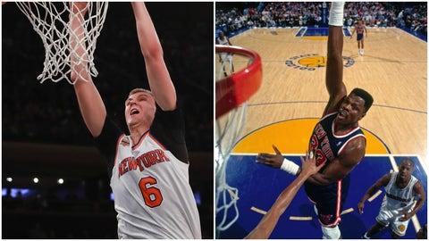 Kristaps Porzingis, New York Knicks: Patrick Ewing