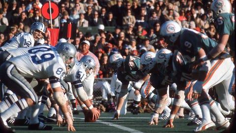 Super Bowl VI - Dallas 24, Miami 3