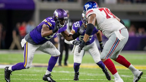 New York Giants: Offensive line play