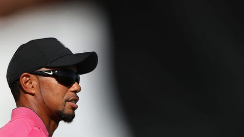 Tiger Woods - 12:00 p.m.