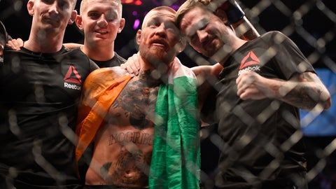 """""""I like Vegas. I've buried three bodies clean out here and Saturday night [Nate Diaz] be a fourth body. The dirt is clean, you can scoop it up and stuff bodies in there easily so I will continue to do that."""""""