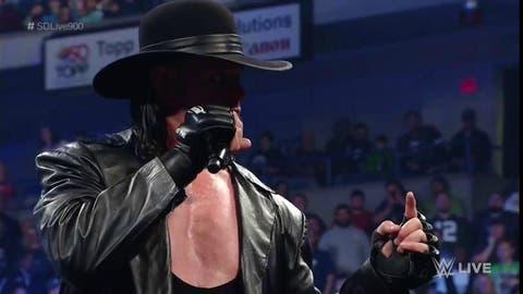 The Undertaker's return