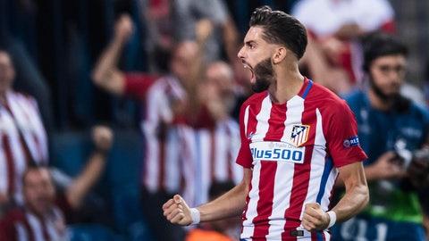MF: Yannick Carrasco, Atletico Madrid