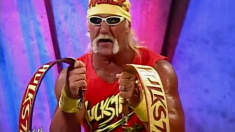 """Hulk Hogan's """"Yapapi strap"""""""