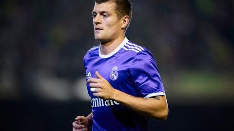 MF: Toni Kroos, Real Madrid