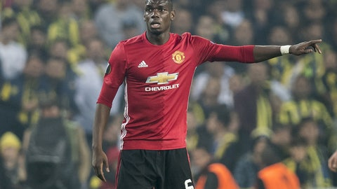 MF: Paul Pogba, Manchester City