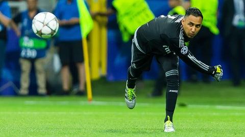 GK: Keylor Navas, Real Madrid