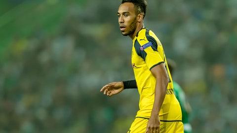 FW: Pierre-Emerick Aubameyang, Borussia Dortmund