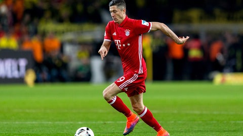 FW: Robert Lewandowski, Bayern Munich