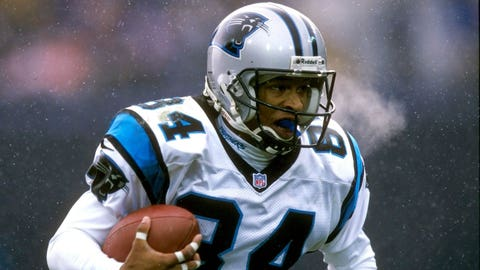 Panthers: WR Rae Carruth (No. 27, 1997)