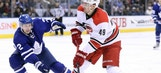 Hurricanes LIVE To GO: Canes gain 5th straight win over Maple Leafs