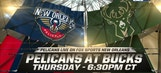 Pelicans Live: Traveling to Milwaukee to face Bucks