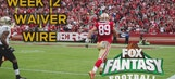 Fantasy Football Week 12 Top Waiver Wire Targets