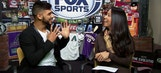 Back and forth with Yair Rodriguez