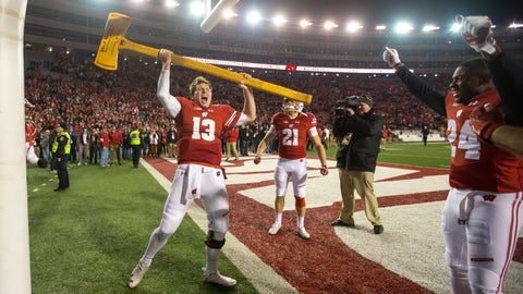 And if Wisconsin wins the Big Ten?