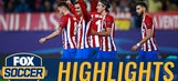 Nice Griezmann volley puts Atletico in front | 2016-17 UEFA Champions League Highlights