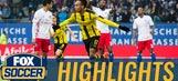 Aubameyang's first-half hat trick vs. Hamburg | 2016-17 Bundesliga Highlights