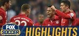 Thiago Alcantara nets close-range header vs. Leverkusen   2016–17 Bundesliga Highlights