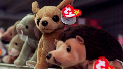 Beanie Babies were all the rage