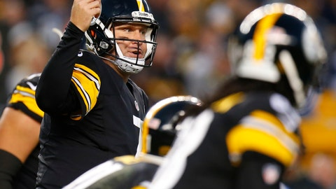 The Pittsburgh Steelers earn a golden sombrero on two-point conversions
