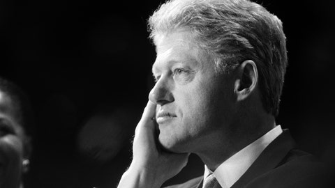 Bill Clinton (D) had just defeated Bob Dole (R) and Ross Perot (Reform) in the U.S. Presidential election