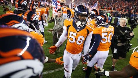 AFC #7 seed: Denver Broncos (7-4)