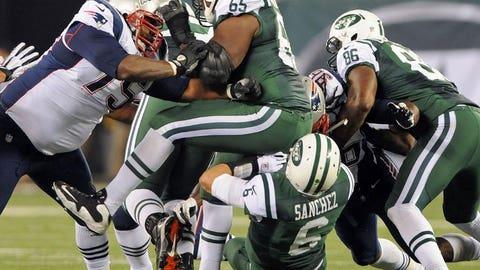 Sunday: Patriots at Jets