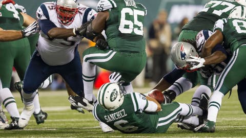 Mark Sanchez and the Butt Fumble