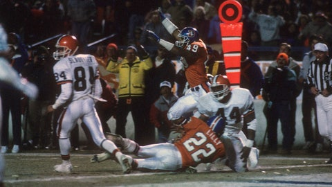 1987 AFC Championship game: Broncos 38, Browns 33