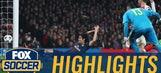 Edinson Cavani opens the scoring against Arsenal | 2016-17 UEFA Champions League Highlights