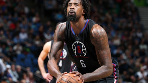 To Los Angeles Clippers for DeAndre Jordan
