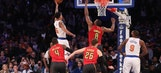 Hawks LIVE To Go: Howard's big day unable to push Hawks past Knicks
