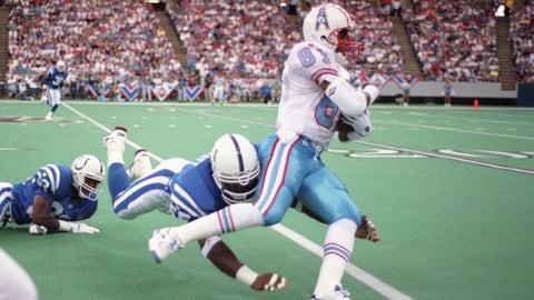 Tennessee Titans: Houston Oilers throwbacks