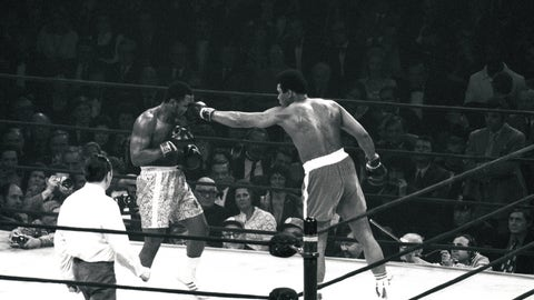 """The Fight of the Century,"" Ali-Frazier I, 1971 (MSG)"