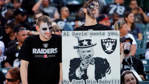 The fans remember Al Davis fondly