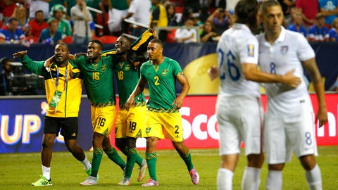 1st ever losses to Jamaica
