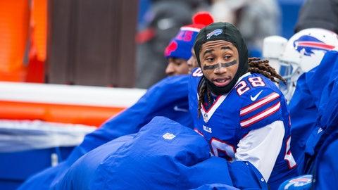 Ronald Darby, CB, Bills (concussion)