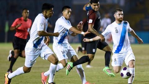 1st loss to Guatemala since 1988