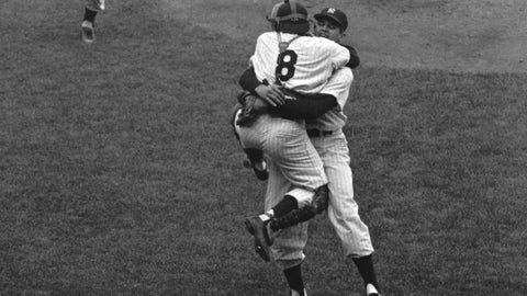 Don Larsen's perfect game, 1956 World Series, Game 5 (Yankee Stadium)