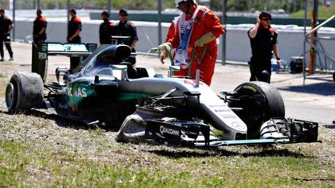 When Mercedes loses F1 races
