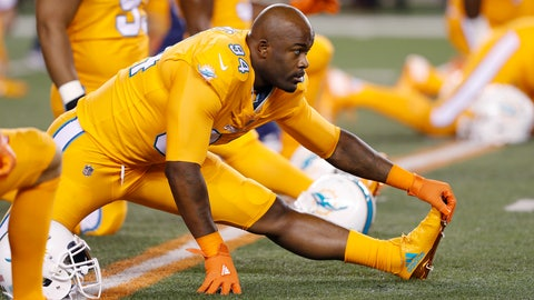 Mario Williams, DE, Dolphins (ankle)