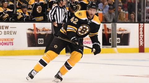 David Backes, F, Bruins