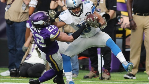 The Vikings will miss the playoffs