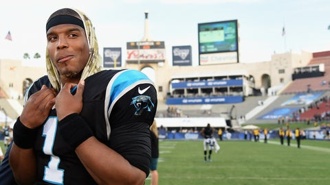 Cam Newton, Panthers