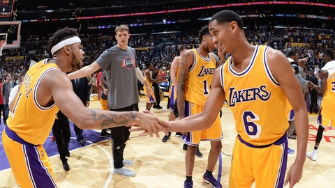 Most swag: The Lakers