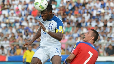 Honduras - 0 pts, -1 GD