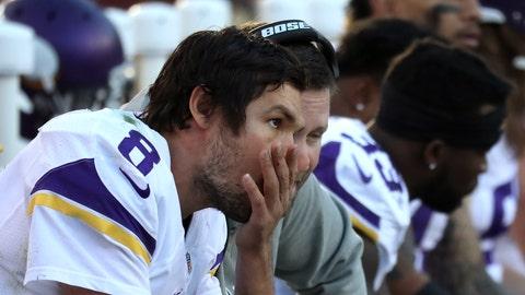 The Minnesota Vikings' running game is still stuck in reverse