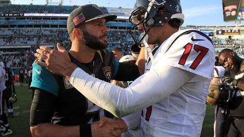 Blake Bortles and Brock Osweiler put on a QB anti-clinic in Jacksonville