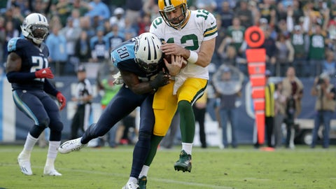 The Green Bay Packers' terrible, horrible, no good performance