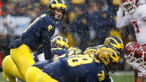 Michigan (10-1), re-rank: 2